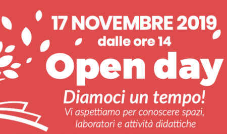 Il 17 novembre 2019 è OPEN DAY!