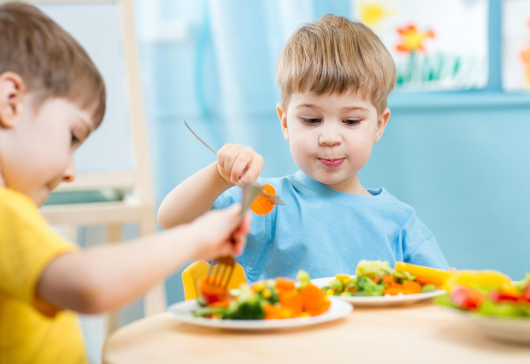 mangiare vegetariano a scuola